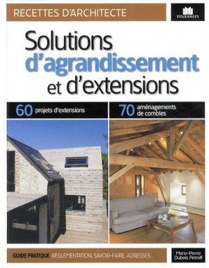 Solutions d'agrandissement et d'extensions - massin - 9782707208453 -