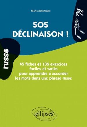 SOS déclinaison Russe - ellipses - 9782729887346