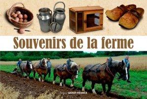Souvenirs de la ferme - ouest-france - 9782737373367 -