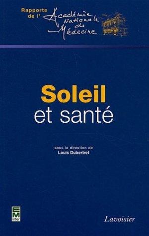 Soleil et santé - em inter / lavoisier - 9782743008956 -