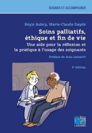 Soins palliatifs, éthique et fin de vie-lamarre-9782757309582