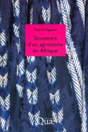 Souvenirs d'un agronome en Afrique - quae - 9782759208951 -