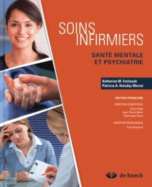 Soins infirmiers - Santé mentale et psychiatrie Pack 3 vol - de boeck superieur - 9782804181550 -