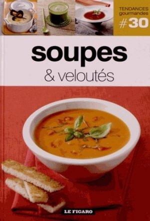 Soupes & veloutés - le figaro - 9782810503902 -