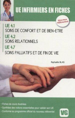 Soins de confort et de bien-être - Soins relationnels - Soins palliatifs et de fin de vie - vernazobres grego - 9782818304723 -