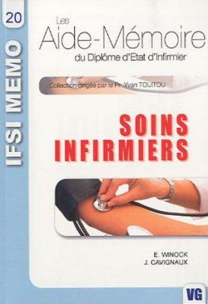 Soins infirmiers - vernazobres grego - 9782841368006 -