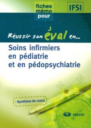 Soins infirmiers en pédiatrie et en pédopsychiatrie - estem - 9782843713132 -