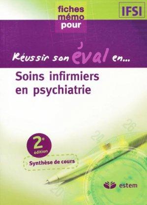 Soins infirmiers en psychiatrie - estem - 9782843714436 -