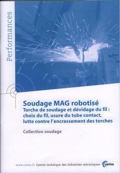 Soudage MAG robotisé - cetim - 9782854006698 -