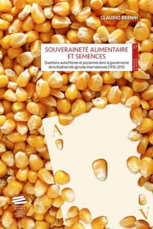Souveraineté alimentaire et semences - alphil - 9782889302390 -
