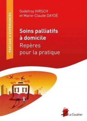 Soins palliatifs à domicile - le coudrier - 9782919374038