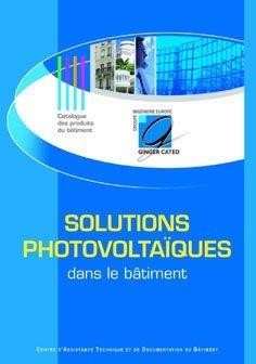 Solutions photovoltaïques dans le bâtiment - ginger cated - 9782953279405 -