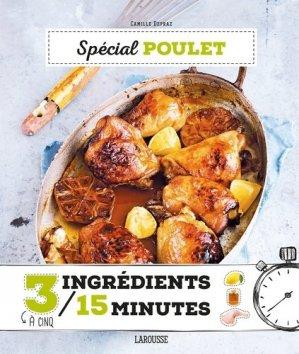 Spécial poulet - Larousse - 9782035924063 -