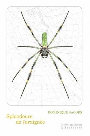 splendeurs de l'araignee - de natura rerum - klincksieck - 9782252041468 -
