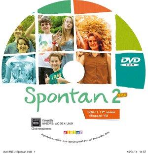 Spontan 2 Neu Palier 1 2e Année A2 : 1 DVD de Remplacement - didier - 9782278079902 -