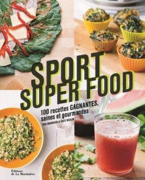 Sport super food - de la martiniere - 9782732479385 -