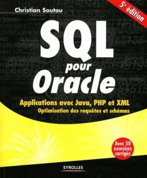 SQL pour l'Oracle - eyrolles - 9782212133295 -