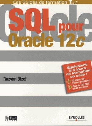 SQL pour Oracle 12c - eyrolles - 9782212140545 -