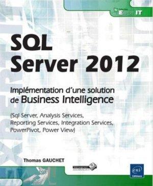 SQL Server 2012 - eni - 9782746078284 -
