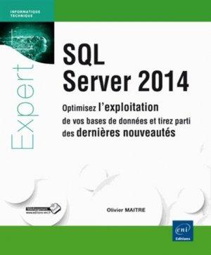 SQL server 2014 - eni - 9782746093324 -
