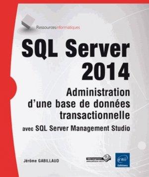 SQL server 2014 - eni - 9782746093829 -