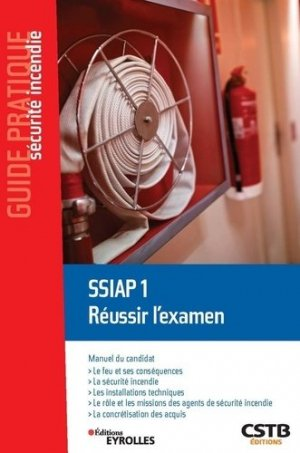 SSIAP 1 Réussir l'examen - cstb - 9782212678871 -