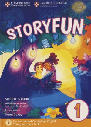 Storyfun for Starters Level 1 - Student's Book with Online Activities and Home Fun Booklet 1 - cambridge - 9781316617014 -