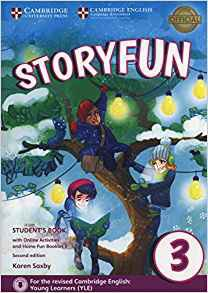 Storyfun for Movers Level 3 - Student's Book with Online Activities and Home Fun Booklet 3 - cambridge - 9781316617151 -