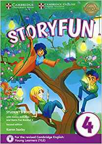 Storyfun for Movers Level 4 - Student's Book with Online Activities and Home Fun Booklet 4 - cambridge - 9781316617175 -