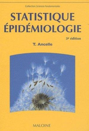 Statistique épidémiologie - maloine - 9782224030421 -