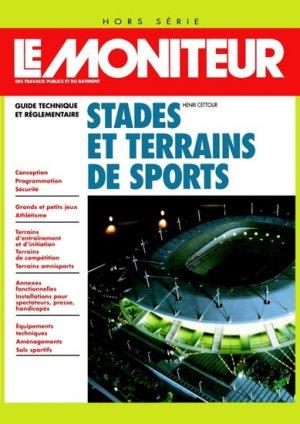 Stades et terrains de sports - le moniteur - 9782281122404 -