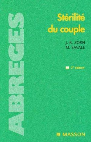 Stérilité du couple - elsevier / masson - 9782294015335 -