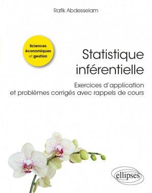 Statistique inférentielle - Ellipses - 9782340038066 -