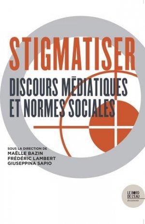 Stigmatiser - le bord de l'eau - 9782356876683 -