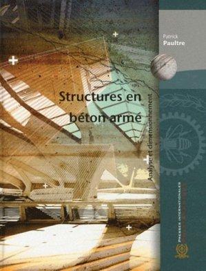 Structures en béton armé - presses internationales polytechniques - 9782553015571 -
