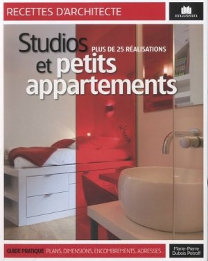Studios et petits appartement - massin - 9782707207524 -