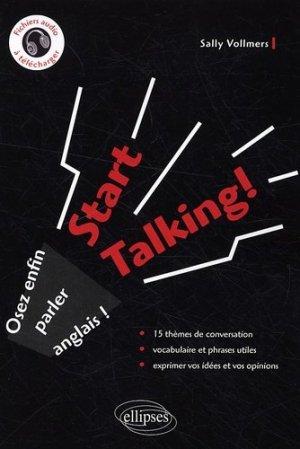 Start talking ! - Ellipses - 9782729843588 -