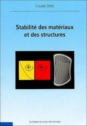 Stabilité des Matériaux et des Structures - Ecole Polytechnique - 9782730210768 -