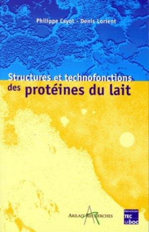 Structures et technofonctions des protéines du lait - lavoisier / tec et doc - 9782743002299 -