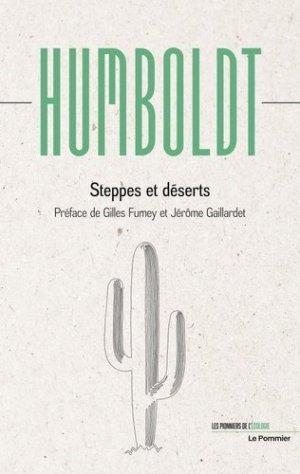 Steppes et déserts - le pommier - 9782746519657 -