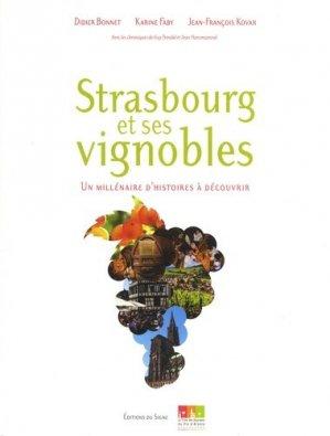 Strasbourg et ses vignobles - du signe - 9782746834590 -