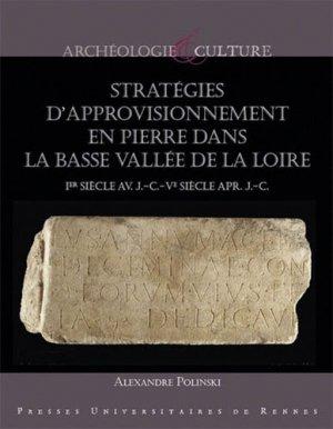 Stratégie d'approvisonnement en pierre dans la basse vallée de la Loire - presses universitaires de rennes - 9782753577633 -