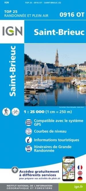 St-Brieuc - Institut Géographique National - 9782758551461 -