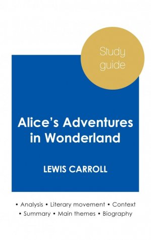 Study guide Alice's Adventures in Wonderland - paideia educazione - 9782759307043 -