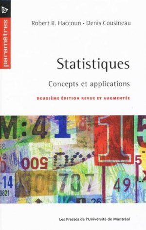 Statistiques - presses de l'universite de montréal - 9782760621138 -
