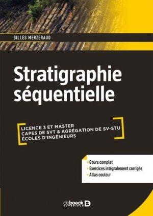 Stratigraphie séquentielle - de boeck superieur - 9782807320765 -