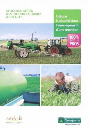 Stockage aérien des produits liquides agricoles - arvalis - 9782817901480