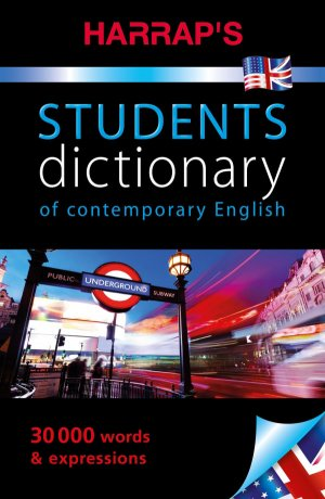 STUDENT DICTIONARY OF CONTEMPORARY ENGLISH  - HARRAP'S - 9782818706015 -
