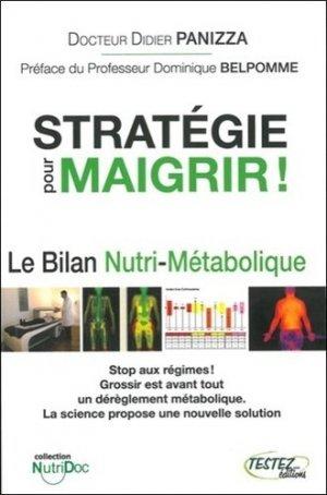Stratégie pour maigrir - testez - 9782874611032 -