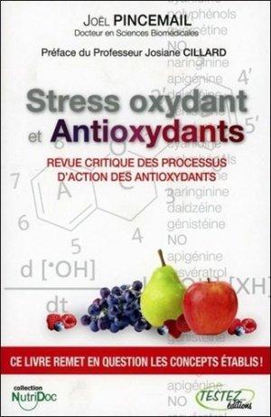 Stress oxydant et Antioxydants - testez - 9782874611087 -